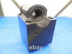 1 1/2 ID BORING BAR BOLT ON TOOL BLOCK HOLDER ABOUT 85 X 94 mm BOLT HOLE PATTERN