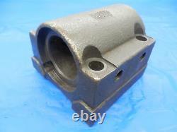 1 3/4 ID BORING BAR BOLT ON TOOL BLOCK HOLDER ABOUT 75 X 75 mm BOLT PATTERN