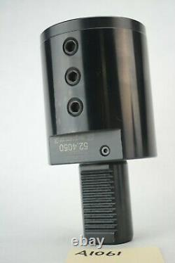 1 NEW Global CNC 2 ID Boring bar Tool Holder 52.4050 VDI40 E2 External Coolant