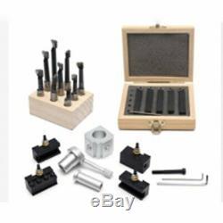 19Pcs/Set Quick Change Tool Post Mini Lathe CNC Boring Bar Turning Tool Holder K