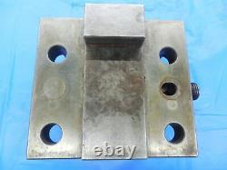 2 ID BORING BAR BOLT ON TOOL BLOCK HOLDER ABOUT 57 1/2 X 83 mm BOLT PATTERN