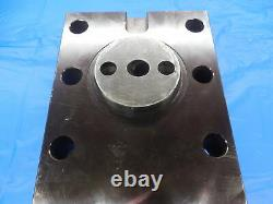 2 ID BORING BAR TOOL BLOCK HOLDER ABOUT 112 X 120 mm BOLT HOLE PATTERN 6 BOLTS