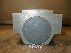3 Bore CNC Boring Bar Block Lathe Tool Holder 130mm x 90mm Bolt Pattern, Used