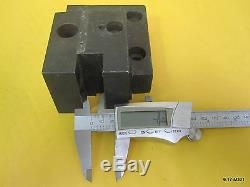 (4) Bolt-on Turret for 3/4 Tool (1) 7/8 ID Boring Bar Holder 55mm x 60mm -18mm