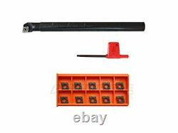 5/8'' by 8'' Rh Sclcr Indexable Boring Bar Holder 5/8 with CCMT32.5 inserts
