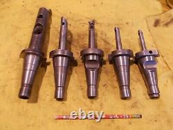 5 pc LOT of DEVLIEG MICROBORE NMTB 40 TAPER BORING HEADS mill tool holder bar