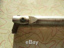 #54 R. H. CLARK 1/2 inch boring bar 8 inches long & holder
