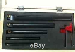 5Pc/Set Of 7 10 12 16 20mm SCLCL Lathe Turning Tool Holder Boring Bar For CCMT