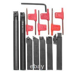 7PCS Set Of 16mm Lathe Turning Tool Holder Boring Bar CNC Tools Lathe W