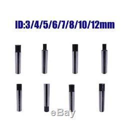 8Pcs Carbide Boring Bar Turning Tool Holder 3-12mm for Inner Hole SHB 20