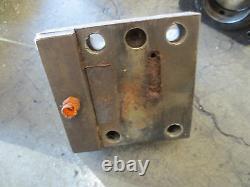 91 Okuma Lc-40 Cnc Lathe Turret Boring Bar Tool Holder Block Tooling 3 Pieces