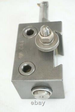 ALORIS C4 QUICK CHANGE TOOL HOLDER&Sleeve 1.25 WithIscar Boring Bar GIHR 25.4-4