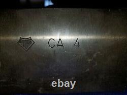 Aloris Ca #4 Heavy Duty Boring Bar Holder 1-1/4 & 1 Collet Sleve Included