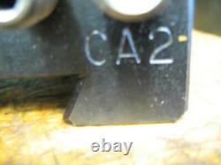 Aloris Ca Tool Post + 4 Holders Ca-1, Ca-2, -ca-16, Ca-4 Boring Bar Holder Vgc