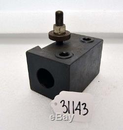 Aloris Heavy Duty Boring Bar Holder CA-4 (Inv. 31143, 31144)