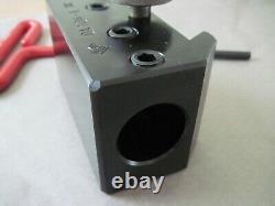 Aloris Indexable Boring Bar Holder DA-104-I with Ecklind 5/16 Hex Key Tool