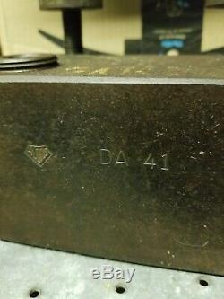 Aloris Quick Change Tooling Block DA-41 DA41 2 Boring Bar Holder Used Lathe
