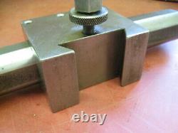 Aloris style CXA 1.5 Boring Bar Holder with Carboloy 1-1/2 Boring Bar