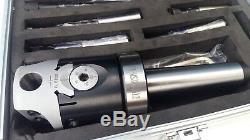 Amadeal 50mm Boring Head Set MT3 Holder 9pc 12mm Boring Bars