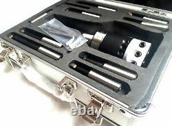 Amadeal 50mm Boring Head Set R8 Holder 9pc 12mm Boring Bars