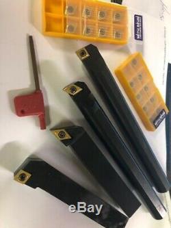BORING BARS Lathe tool holder 20 inserts ccmt /dcmt 1/2 SHANKs