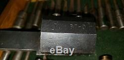 Bokum BT 0 and Boring Holder & Bars. Lot of 36 pc Machinist toolmaker -USA Made