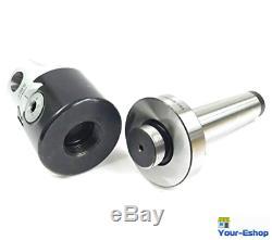 Boring Tool Set Head 2 Inch Mt3 1/2 Bar Holder Turning Hole Enlarger Shank Taper