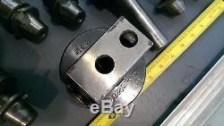Bridgeport Quick Change Tool Holder System R8 Boring Bar, Albrecht Drill Chuck