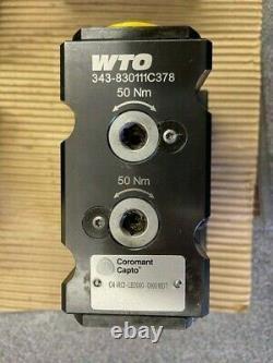 CAPTO C4-RCI-LB2000-090018DT Double Boring Bar Holder One Piece