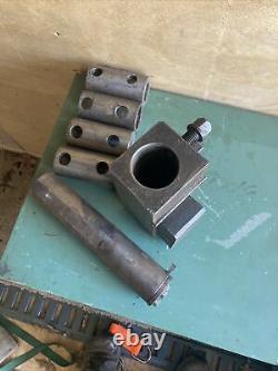 CNC Metal Lathe Turning Center Boring Bar Tool Holder With Bushings & Bar