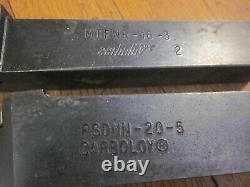 Carbide Indexable Tool Holder Boring Bar Lot Machinist Lathe Mill Dorian Sandvik