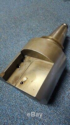 Cat 50 holder for 2 boring bar & 1 square shank turning tool