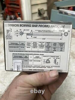 Circle 1/4 Trigon Small Diameter Boring Bar Metal Lathe Tool Holder GSBIW-250-4