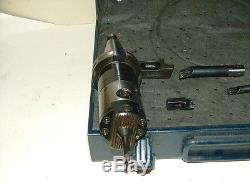 D'Andrea Boring Head Coolant Thru On CAT40 CNC Holder Indexable Carbide Bars