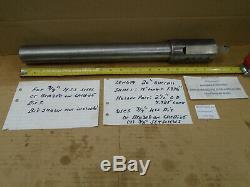 D412 LARGE Lathe Boring Bar 2 Shank 2-1/2 Head 20 Long with 3/4 Bit Holder