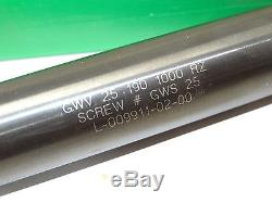 DAPRA GWV-25-190-1000-RZ 1 Ball Nose Finisher end mill boring bar tool holder