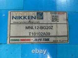DMG Mori Lyndex Nikken #MNL12-BG20Z 2 Boring Bar Holder