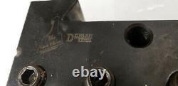 Dorian D60EA-4-CNC 2 Boring Bar Quick Change Tool Post Holder. Lot#13