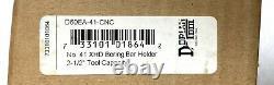 Dorian (D60EA-41-CNC) Extra Heavy Duty 2.5 Boring Bar Tool Post Holder, #41