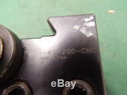Dorian QITP40N-41-200-CNC Quick Change Tool Holder 2.0 Bore Bar Capacity