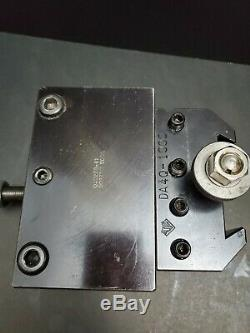 Dorian QITP50 & Aloris DA 1 & 2 Boring Bar Quick Change Holder Machinist DA4Q