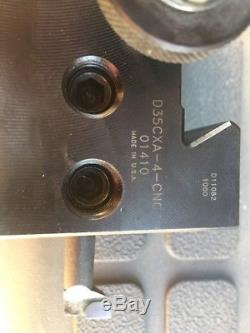 Dorian Tool Quick Change Lathe Tool Holder No 4 D35CXA-4-CNC for 1 boring bar