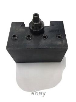 Dorian V60TC-4-CNC 2 Coolant Boring Bar Quick Change Tool Post Holder