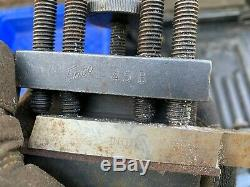 Enco #45 QC Lathe Tool Post withthree Tool Holders 45A, 45B, and 45C Boring Bar