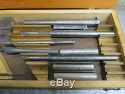 Everede No. 2 Eccentric Style Boring Bar Tool Holder for Metal Lathe withCutters