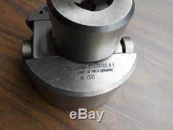 GRAND TOOL No. 150 Micro-Adjust Boring Bar Holder withT-Wrench Lathe/West Germany
