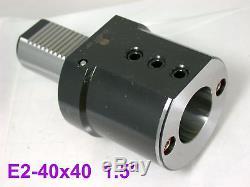 Gromax VDI 40 E2 1.5 Boring Bar Tool Holder E2-40x40