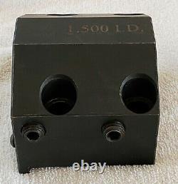 HAAS 1-1/2 Diameter Boring Bar Tool Holder Turret CNC Lathe Coolant 1.5 USA