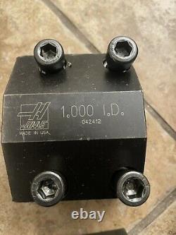 HAAS Automation SL20 1.00 Diameter Boring Bar Tool Holder CNC Lathe