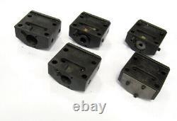 HAAS BORING BAR Tool Holder LOT Bolt-On Blocks for SL-10 CNC LATHE